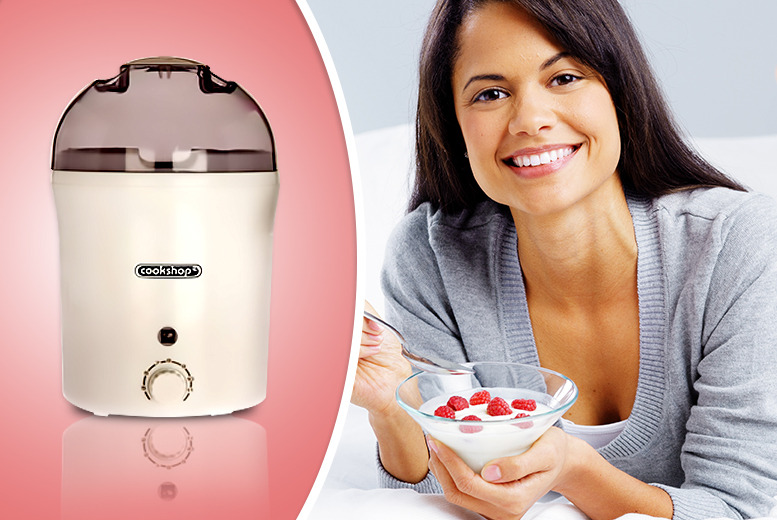 £10 instead of £21(from Cost Mad) for a Cookshop electronic yoghurt maker - save 52%