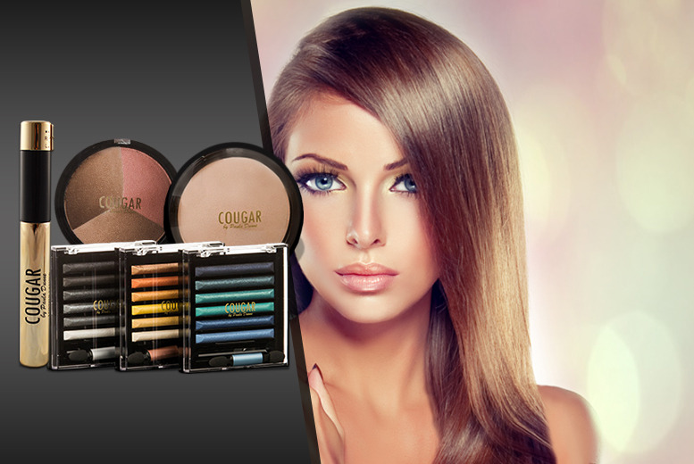 £19 instead of £64.97 (from Cougar Products) for a mineral makeup package inc. mascara, eyeshadow, bronzer, highlighter and blusher - save 71%