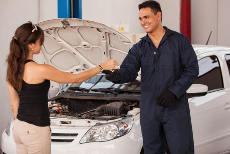 £21 for a car air-conditioning service with re-gas at Derek Ball Motors, Birmingham