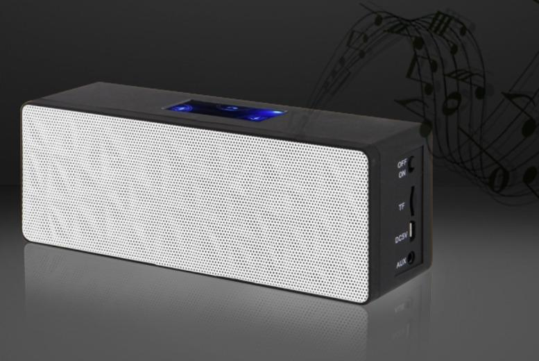 £19.99 instead of £39.99 (from Eurosfield) for a wireless V3 2 x 3W Bluetooth stereo speaker - throw shapes hands-free & save 50%