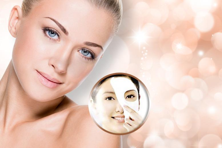 £10 instead of £79.99 (from Quick Style) for ten luxury collagen face masks - save 87%