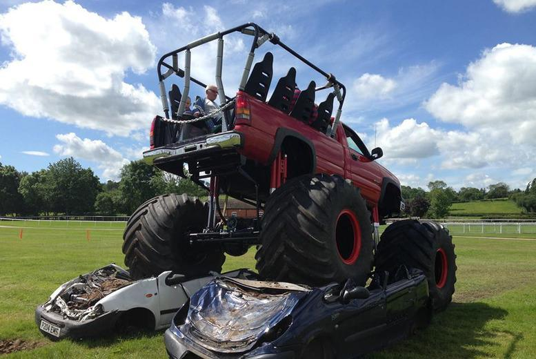 From £19.99 for a monster truck and car crush experience for one, £64.95 for a family of 4 at Wicked Adventures, Luton - save up to 50%