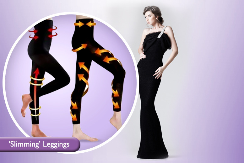 £6.99 instead of £24.99 (from Beautyfit) for a pair of body contour leggings or £12 for two pairs - save up to 72%