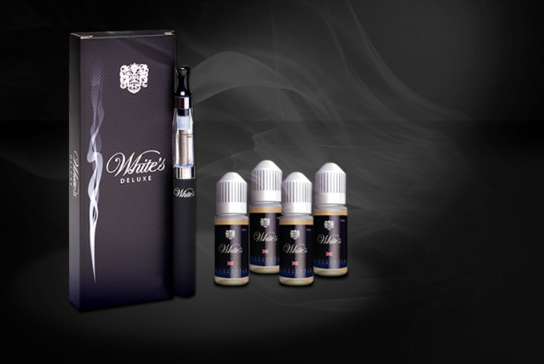 £19.99 instead of £49.95 (from White's Electronic Cigarettes) for an electronic shisha kit inc. 4 refills in a choice of 9 flavours - save 60%