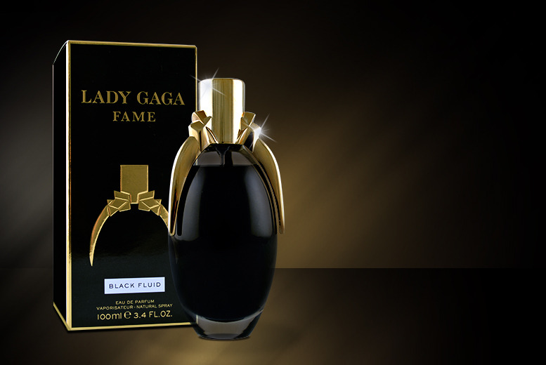 £14.99 instead of £55 for a 100ml bottle of Lady Gaga Fame eau de parfum from Wowcher Direct - save 73%