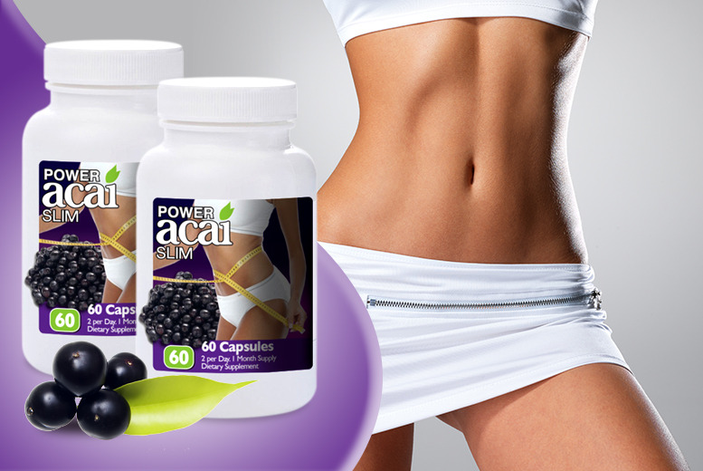 £9 instead of £39.98 (from Zahiki) for a 2-month* supply of acai capsules - save a body-boosting 77%
