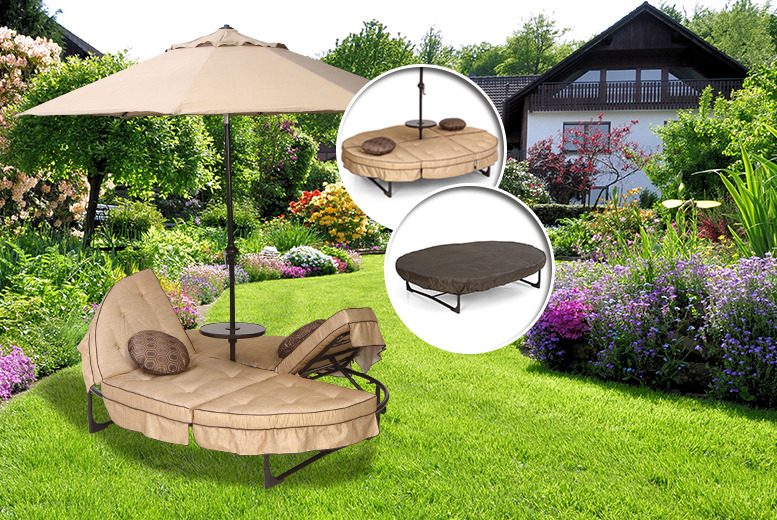 £189.99 instead of £320.01 for a Hamilton orbit lounger from Wowcher Direct - save 41%