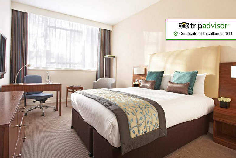 From £89pp (from The Omega Holidays Group) for an overnight stay at the 4* Thistle™ Euston including breakfast and admission to Buckingham Palace
