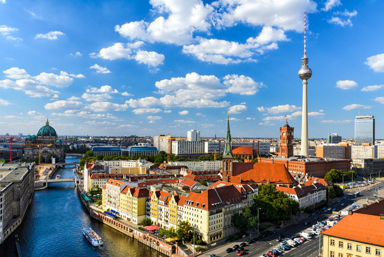 From £99pp instead of up to £146.90pp (from iFly) for a 2nt Berlin break including flights and breakfast - save up to 33%