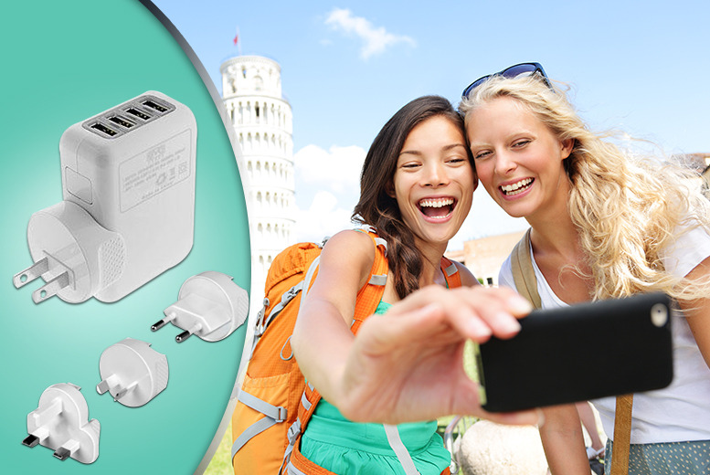 £12 instead of £31.01 (from Aven Republic) for a 4-port USB travel plug - save 59%