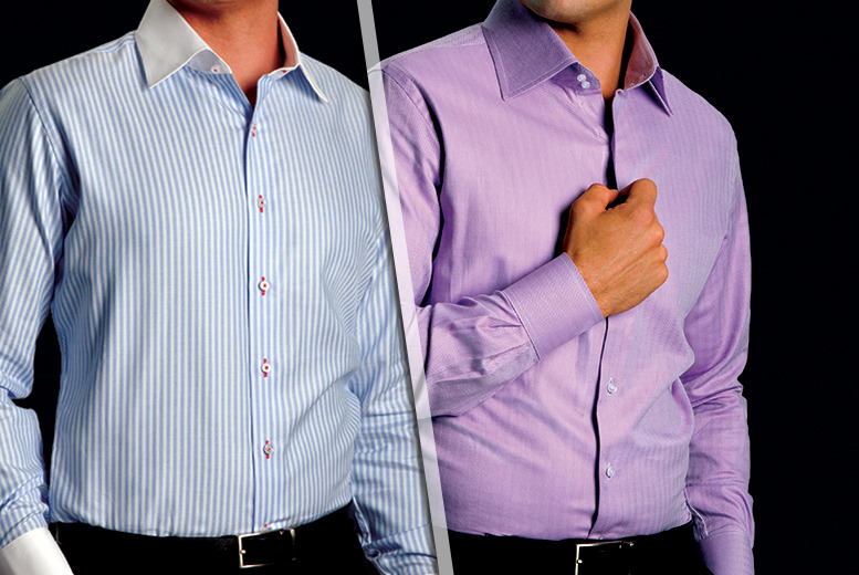 £20 for a £69 voucher to spend on a custom designed and tailored men's or women's shirt from Tailors Mark - save 71%
