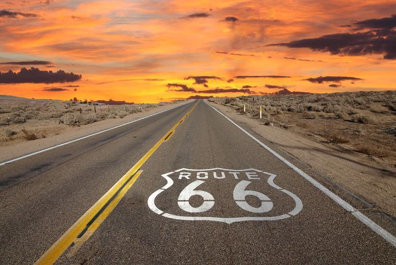 £1499pp instead of up to £2995pp (from IWC) for a 14nt Route 66 road trip inc. return flights, accommodation and car hire - save 50%