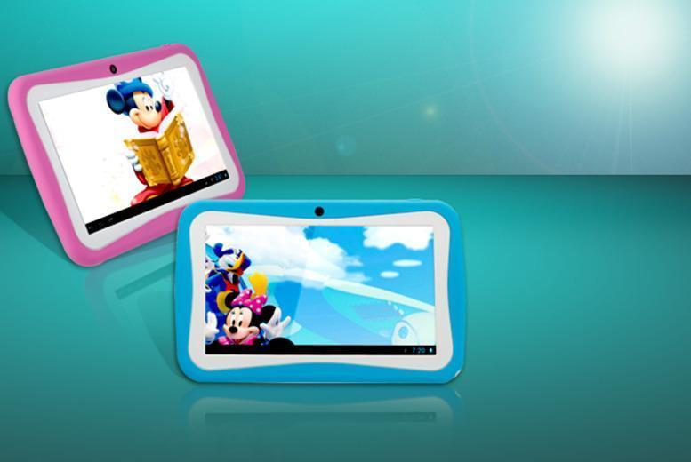 £32.99 instead of £109.99 (from Loco Gadgets) for a kids' 7-inch Google Android 4.1 netbook tablet - save 70%