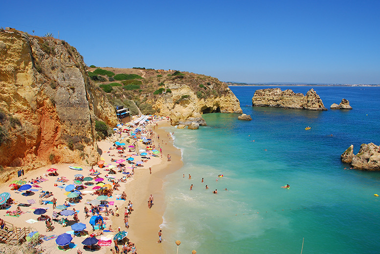 From £99pp instead of up to £163.03pp (with Major Travel) for a 5-night Algarve beach break with return flights - save up to 41%