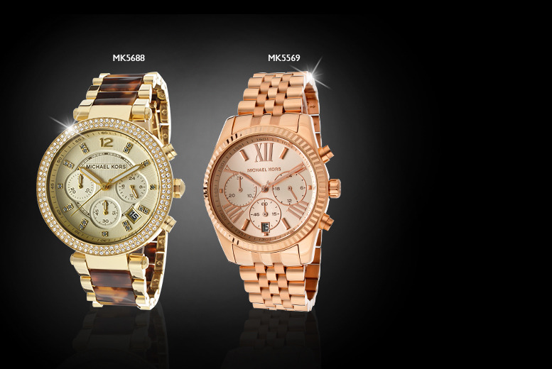 From £122 for a stylish Michael Kors watch from Wowcher Direct - choose from six designs for men and women and save up to 46%