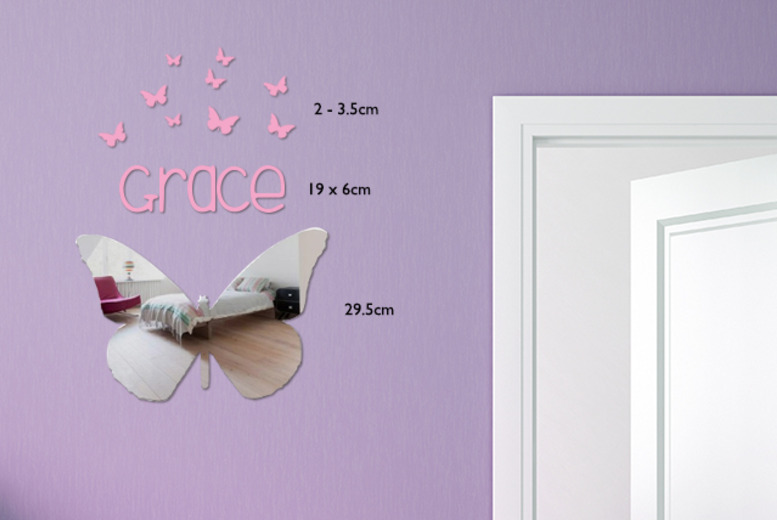£7.99 instead of £21.50 (from Mungai Mirrors) for a personalised mirror in a choice of 4 shapes - save 63%