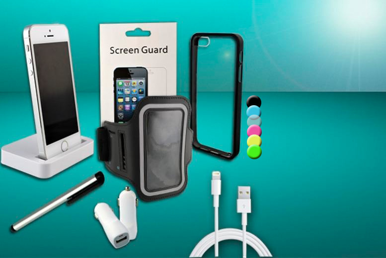 £9.99 instead of £39.99 (from Planet of Accessories) for a 12-piece iPhone accessory bundle - save 75%
