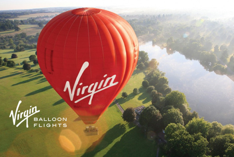 £89 for a 1hr National Weekday Anytime hot air balloon experience for 1, £99 for an Anytime Plus experience for 1 or £189 for 2 people - save up to 31%