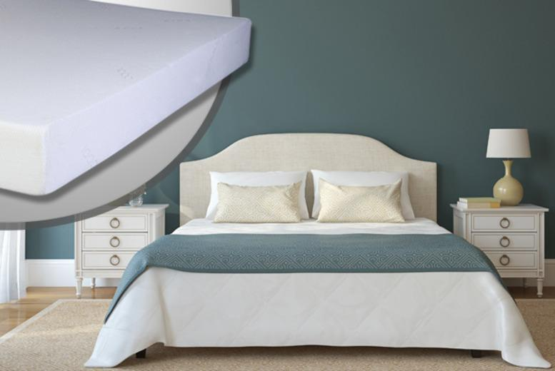 £79 (from Sleep Solutions) for a single memory foam mattress and pillow, £99.99 double, £114.99 king, £134.99 super king - save up to 62%