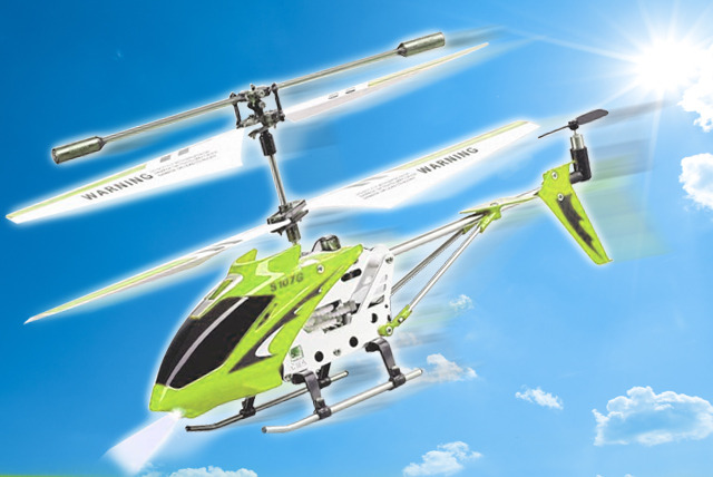 £16.99 instead of £39.99 (from Shopperheads) for a state of the art S107G Remote Control Indoor Helicopter – take to the skies and save 58%