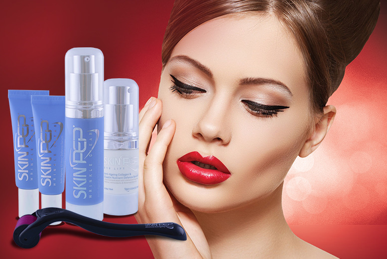 £19.99 instead of £135.95 (from SkinPep®) for a 5-piece 'vampire' serum skincare set - save 85%