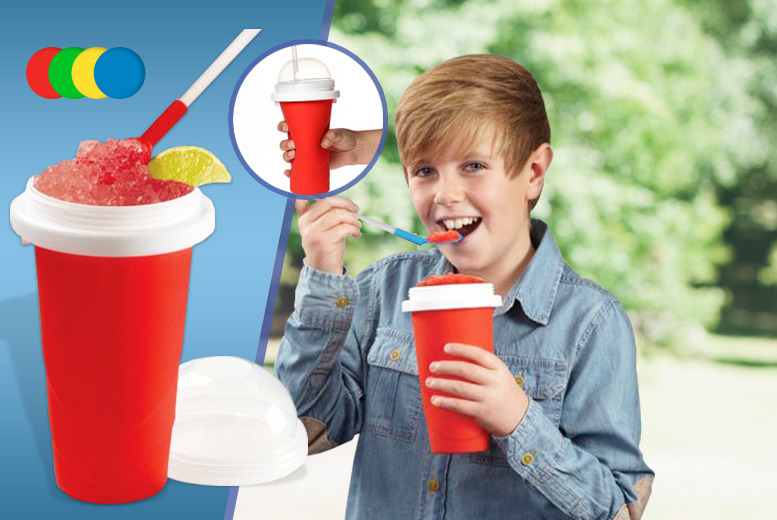£7.99 instead of £29.99 (from London Exchainstore) for an instant slushy maker cup, £14.99 for two - save up to an ice cold 73%