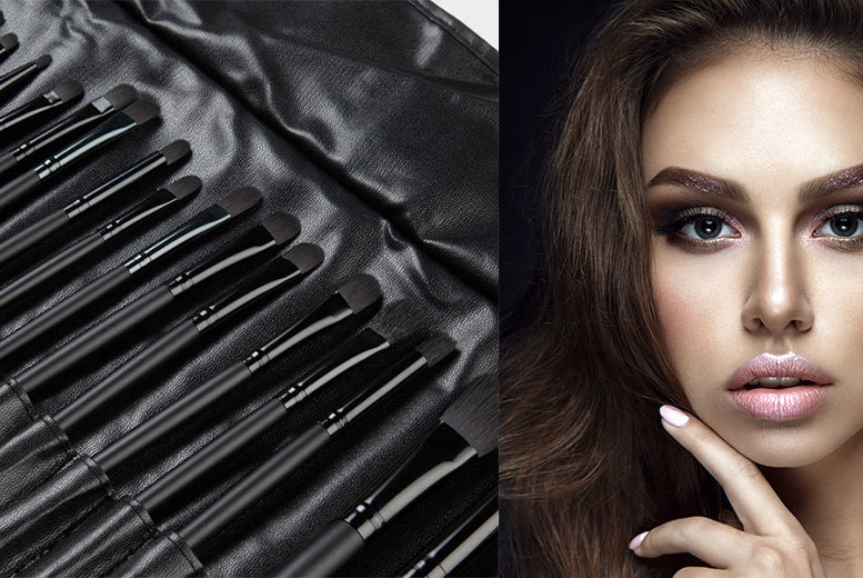 32 pc makeup brush set