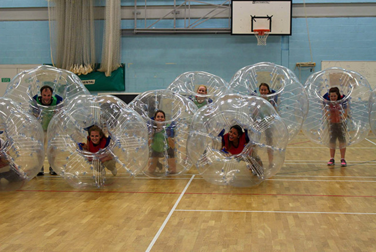 £39 for a bubble bounce football hire inc. ten children's balls, £49 for ten adult balls from Bubble Bounce Football - save up to 74%