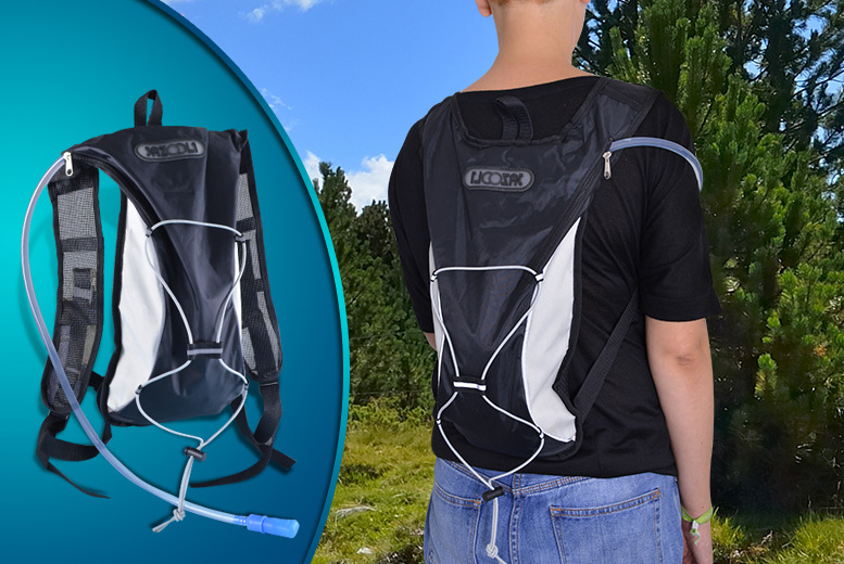 £9.99 instead of £29.99 (from Unusual Giftz) for a 2L hydration backpack in a choice of 5 colours - save 67%