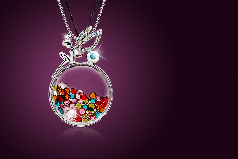 £10 instead of £68 (from Evoked Design) for a fairy crystal necklace made with Swarovski Elements - save a twinkly 85%