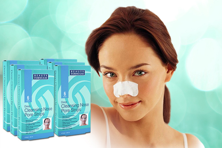 £9 instead of £59.94 (from Eden Organic) for a pack of 36 'deep cleansing' nose pore strips - save 85%