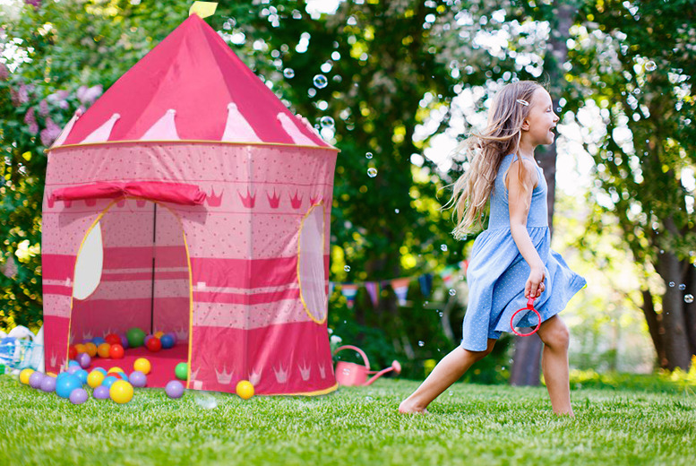 £14.99 instead of £44.99 (from Rock-a-by Baby) for a magical pop-up play tent in a choice of 2 designs - save 70%
