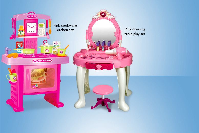 £19.99 instead of £39.99 (from Zoozio) for a kids' play set - choose from 6 designs and save 50% + DELIVERY IS INCLUDED!