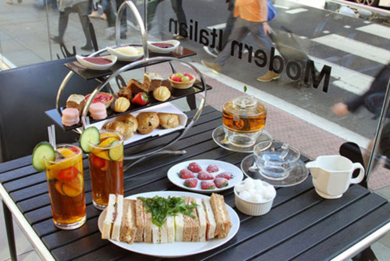 £29 instead of £62 for a luxury afternoon tea with Pimm's or Prosecco for two people at Number Twelve in the Ambassadors, Bloomsbury - save 53%