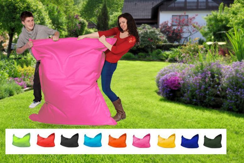 £39.99 instead of £109 (from UK Beanbags) for a giant outdoor 'Big Brother' beanbag in a choice of colours, £65.99 for 2 - save up to 63%