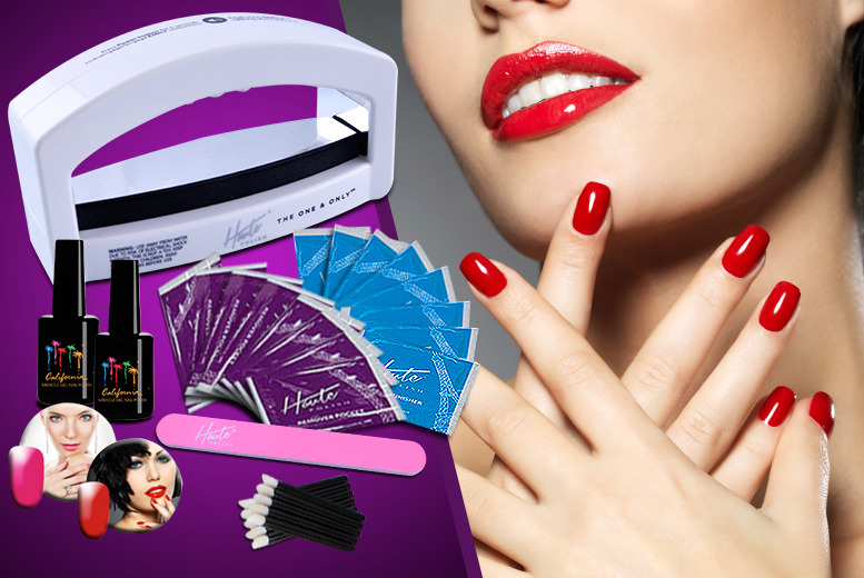 £39.99 instead of £129.99 (from Home Shopping Mall) for an 84-piece gel nail kit inc. 2 gel polishes, £59.99 inc. 6 gel polishes - save up to 69%