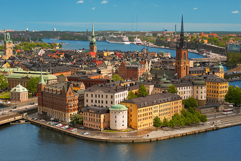 From £99pp (from ClearSky) for a 2nt Stockholm yacht hotel break inc. flights and breakfast, from £149pp for 3nts - save up to 51%