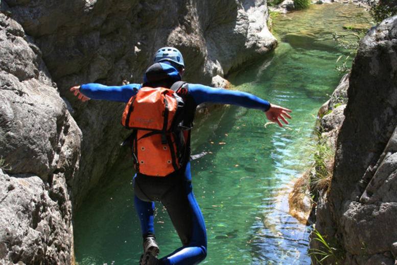 £24 for a 1/2 day outdoor activity experience inc. cliff jumping + canoeing for 1, £29 for 2 or £39 for 3 people with Go Country - save up to 53%