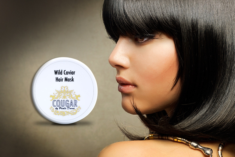 £15 instead of £42.99 (from Cougar Products) for a 100ml tub of luxury 'Wild Caviar' hair mask - save an egg-sellent 65%