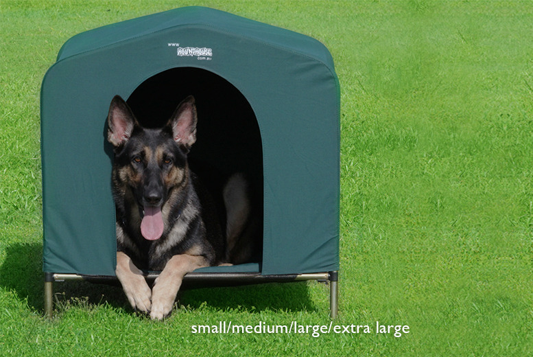 £49 (from Hound House) for a small pet kennel, £59 for a medium, £69 for a large or £79 for an extra large kennel - save up to 64%