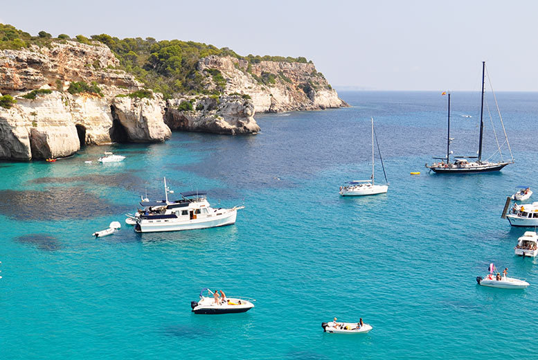 From £69pp (from Weekender Breaks) for a three-night self-catered Menorca break including flights, or from £149pp for seven nights - save up to 34%