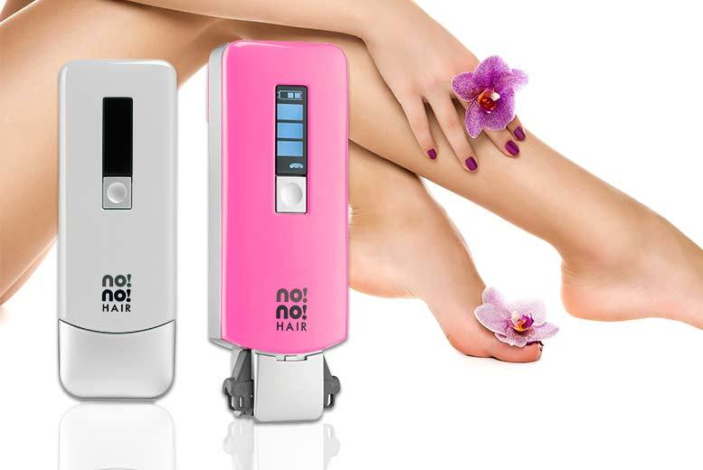 £99 instead of £192 (from no!no!) for a no!no! 8800 professional hair removal device - choose either silver or pink and save 48%