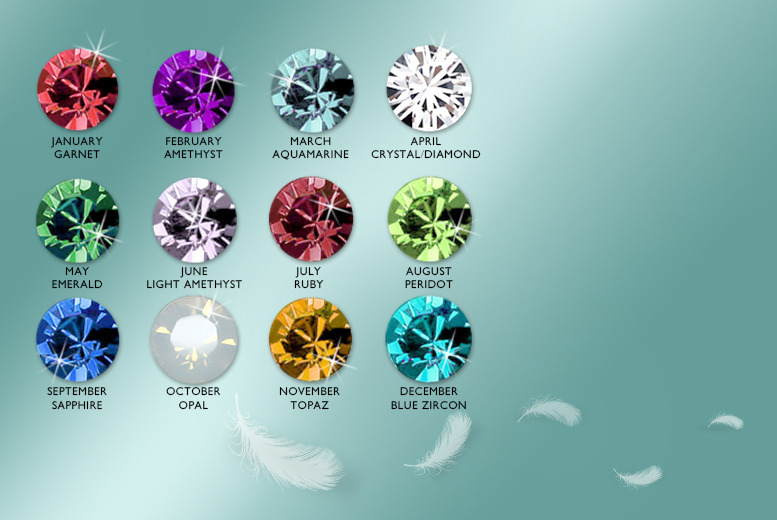 £6 instead of £40 (from Cian Jewels) for a pair of crystal birthstone earrings - choose from all 12 months and save 85%