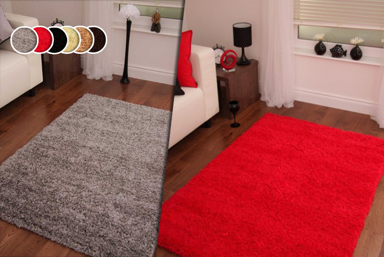 £10 (from Your Essential Store) for a 60 x 110cm shaggy rug, £20 for 80 x 150cm, £24 for 60 x 220cm or £30 for 120 x 160cm - save up to 67%