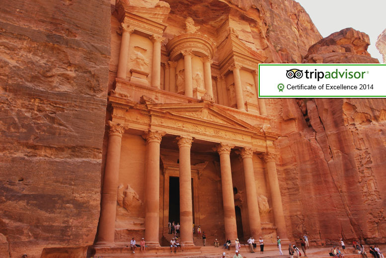 £349pp instead of up to £499pp (from Encounters Travel) for a 6-day trip to Jordan including tours and accommodation - save up to 30%