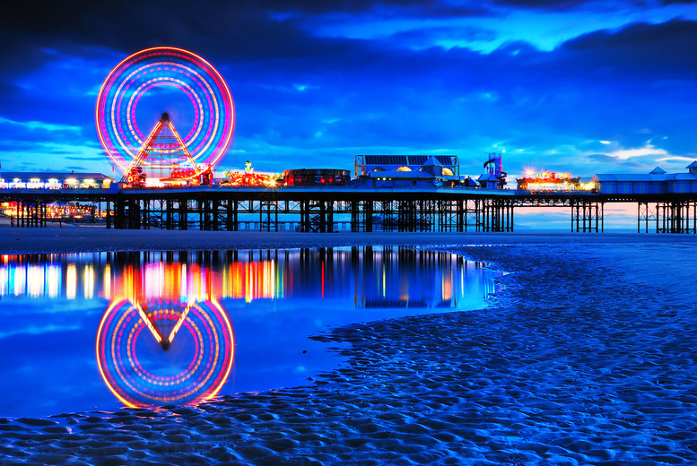 From £89 instead of up to £154 (at Crystals on the Prom) for a 2nt Blackpool stay for 2 inc. breakfast and afternoon tea - save up to 42%