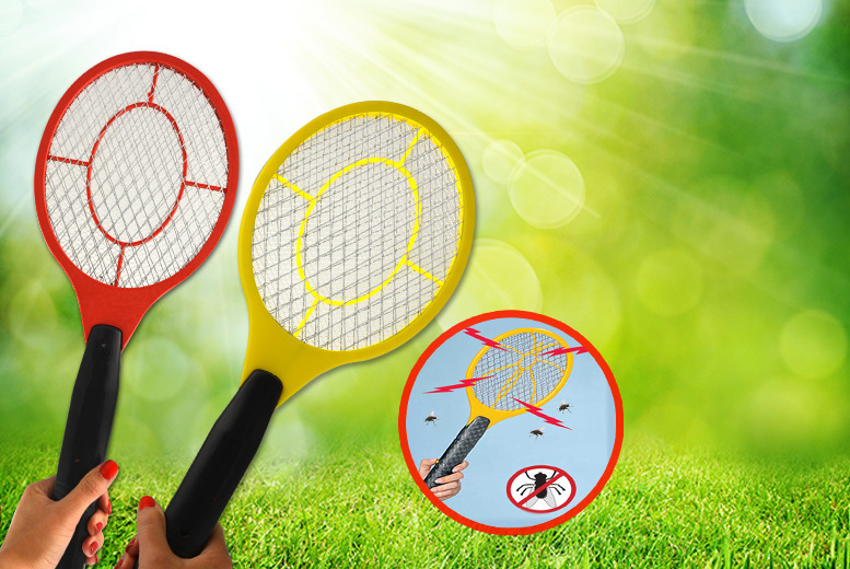 £4.99 instead of £12 (from Urshu) for two handheld bug zapper rackets - save a zap-happy 58%