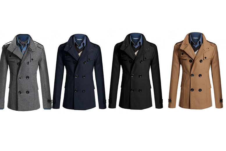 £24 instead of £115.01 (from EFMall) for a men's slim fit casual jacket - choose from four colours and save 79%