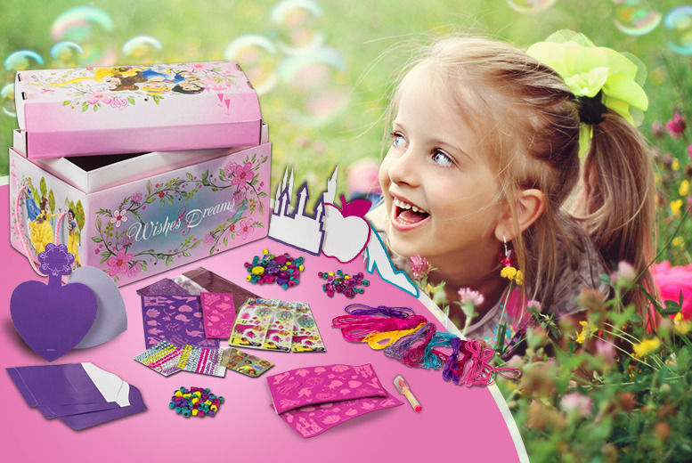 £9.99 for a Disney Princess Mega Arts & Crafts Set from Wowcher Direct