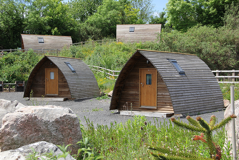 From £39 (at The National Diving & Activity Centre) for a standard wigwam stay for up to four people, or from £49 for a deluxe stay - save up to 60%